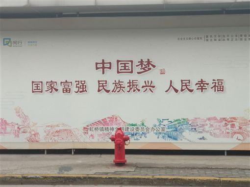 中共總書記習近平提出的「中國夢」,更多強調集體主義和愛國主義。中央社記者張淑伶上海攝 108年11月10日