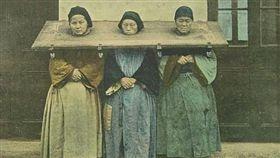 清朝,女性,坐牢。(圖/翻攝自每日頭條)