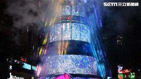 台北市耶誕點燈(北市府提供)