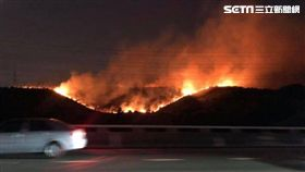 國道,火燒山,延燒,台中,翻攝臉書
