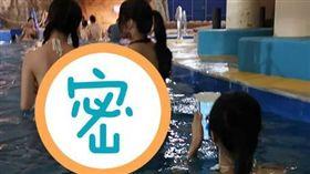 日本,大阪,泳裝,比基尼,美背(圖/翻攝自加藤軍路邊隨手拍)