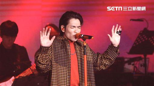 金曲歌王蕭敬騰受邀出席「雙11PChome來了演唱會」演唱會記者林聖凱攝影
