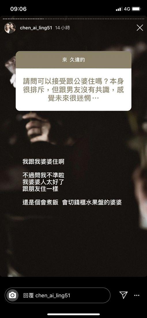 陳艾琳(翻攝自陳艾琳IG)