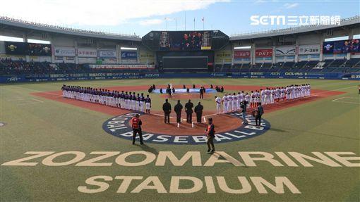 ▲世界棒球12強錦標賽中華出戰墨西哥。(圖/記者王怡翔攝影)