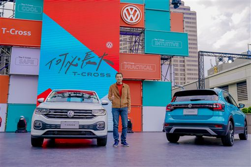 ▲Volkswagen The T-Cross跨界休旅。(圖/Volkswagen提供)