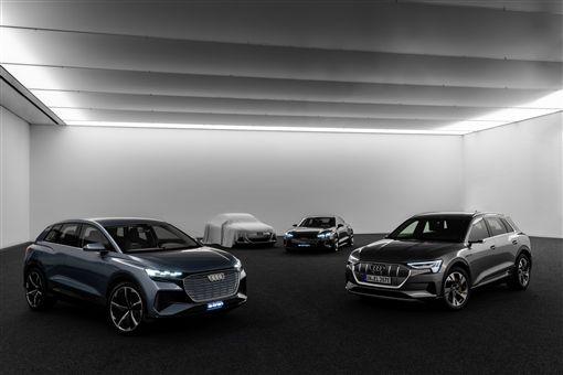 ▲Audi在2025年將重心轉移至電動車。(圖/Audi提供)