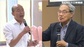 韓國瑜,陳芳明(組合圖/資料照)