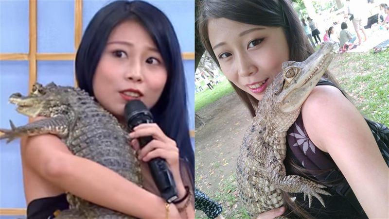 正妹同睡7隻鱷魚 曝駭人爆血日常