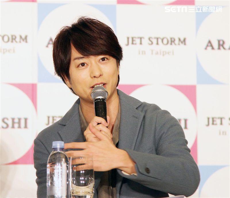 傑尼斯天團「ARASHI嵐」櫻井翔。(記者邱榮吉/攝影)