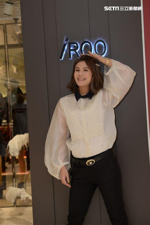 時尚俏媽咪朱海君 讚聲推薦分享iROO 「秀美腰」 穿衣哲學 (新聞提供:iROO)