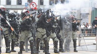 四中後港府更趨強硬 示威者備受壓力