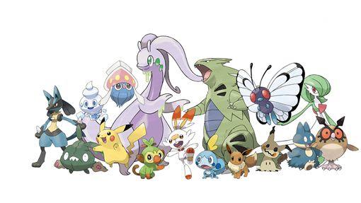 皮卡丘大量發生中,寶可夢,皮卡丘,Switch,寶可夢劍/盾,The Pokémon Company,寶可夢遊行圖/The Pokémon Company提供