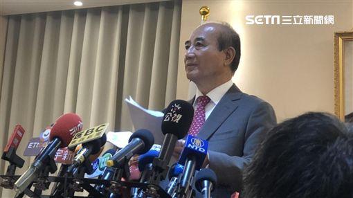 王金平宣布退出2020大選 記者林恩如攝影