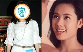 香港女星李麗珍/蜜桃成熟時/53歲近照。微博