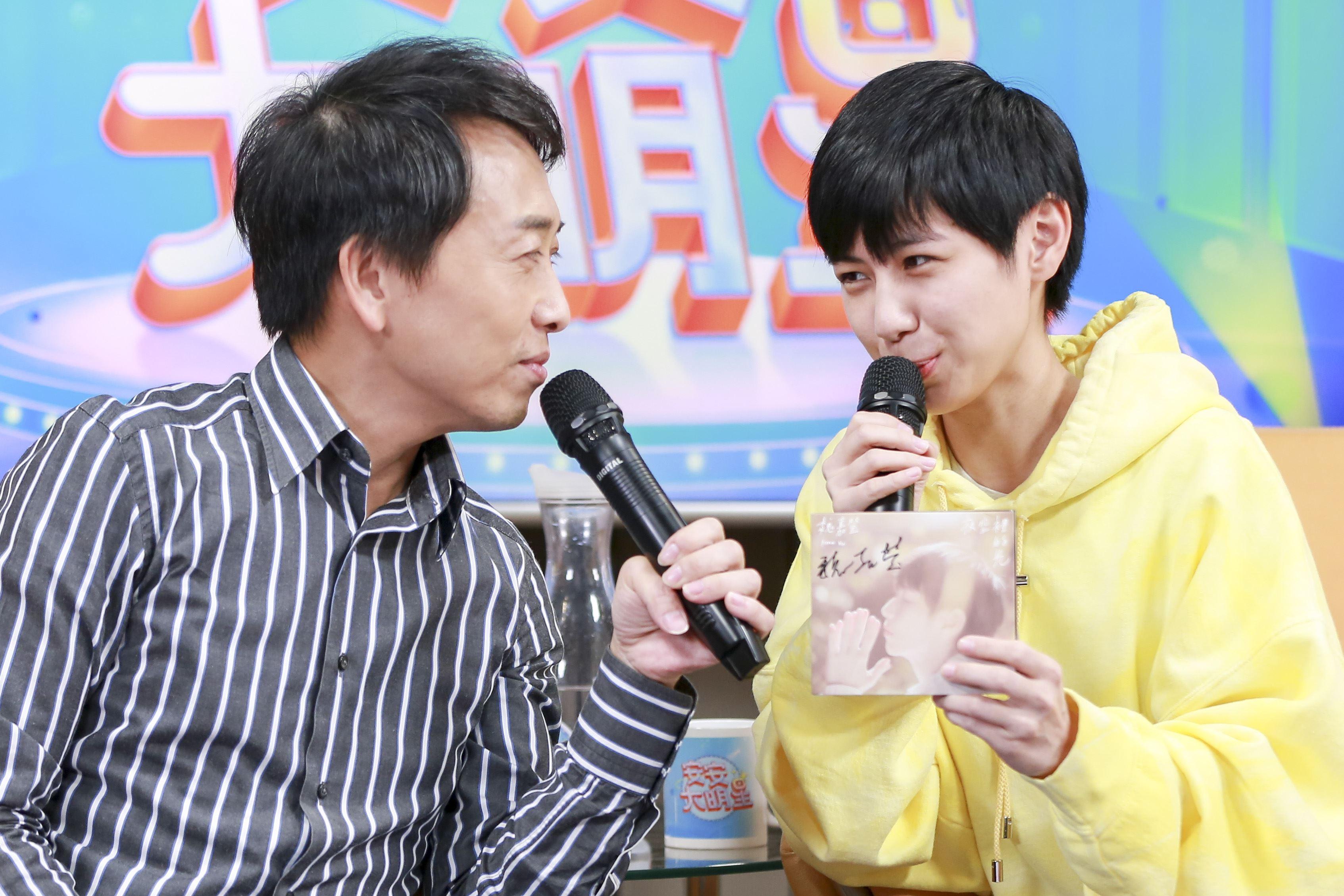 魏嘉瑩安安大明星。(圖/記者林士傑攝影)