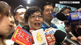 台北市政府市長室顧問蔡壁如。 記者林恩如攝影