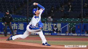 ▲12強韓國先發投手金廣鉉。(圖/記者王怡翔攝影)
