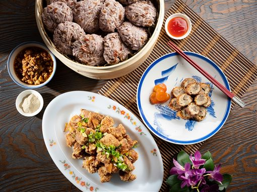 ▲「食在好台」台灣美食主題饗宴。(圖/台北君悅酒店)