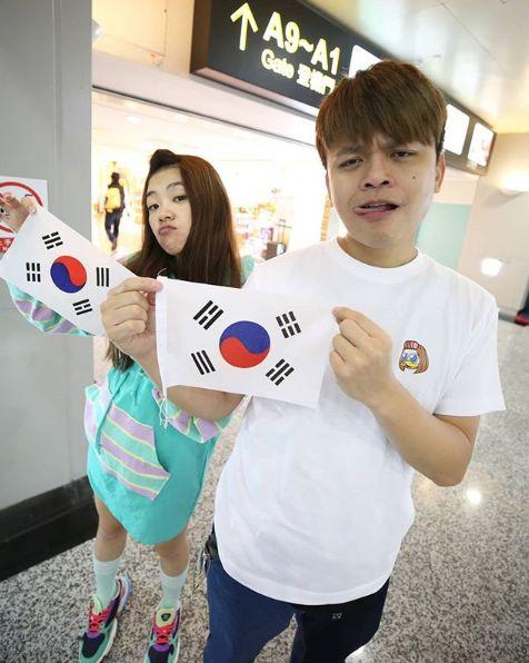 蔡阿嘎,韓國,輸球,中華隊,instagram 圖/翻攝自Instagram