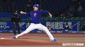 ▲12強張奕封鎖韓國。(圖/記者王怡翔攝影)