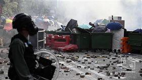 1112香港中大抗爭(圖/翻攝自Stand News 立場新聞)