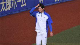 12強韓國隊金廣鉉僅投3.1局就被中華隊敲出8支安打失掉3分。(圖/記者王怡翔攝影)