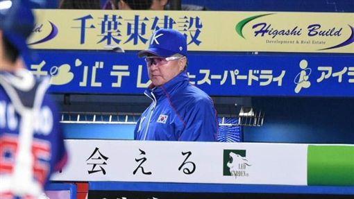 ▲世界棒球12強賽韓國隊總教練金卿文坦言不論任何細節都輸給中華隊。(圖/記者王怡翔攝影)
