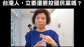 國民黨,不分區,葉毓蘭,吳斯懷 圖/翻攝自 打馬悍將粉絲團