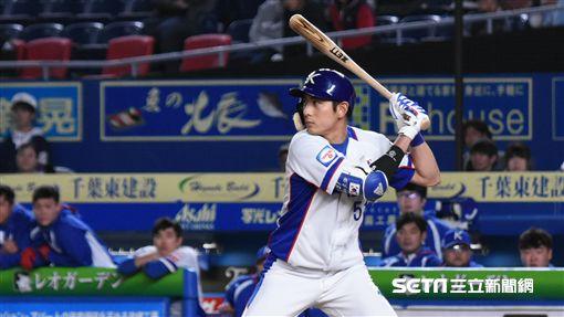 12強韓國隊李政厚。(資料照/記者王怡翔攝影)