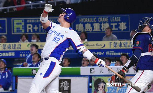 12強韓國隊朴炳鎬。(資料照/記者王怡翔攝影)