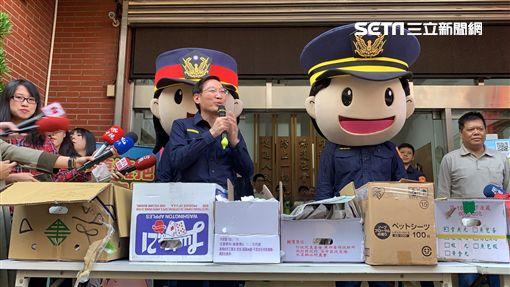 中華隊,員警,雞排,中和,記者陳啓明攝