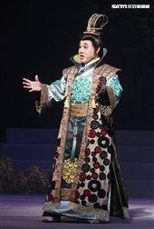 明華園戲劇總團「大河彈劍」國家戲劇院登場彩排。(記者邱榮吉/攝影)
