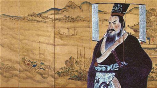 (圖/翻攝自微博)秦始皇,秦皇陵