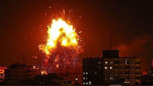 以色列,巴勒斯坦,加薩走廊,交火,死亡人數,攀升(圖/翻攝自推特)