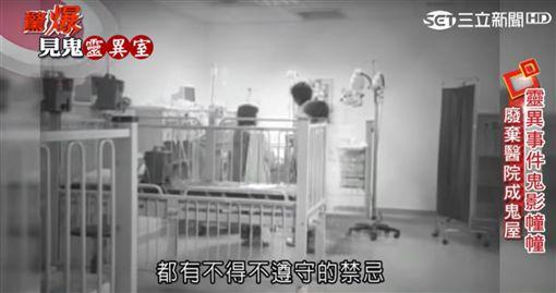 驚爆新聞線-醫院鬼影幢幢 逾半數醫護人員都看過阿飄?(節目截圖)