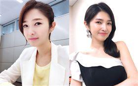 南韓前KBS女主播金京蘭(김경란)。翻攝自lanis_studio IG