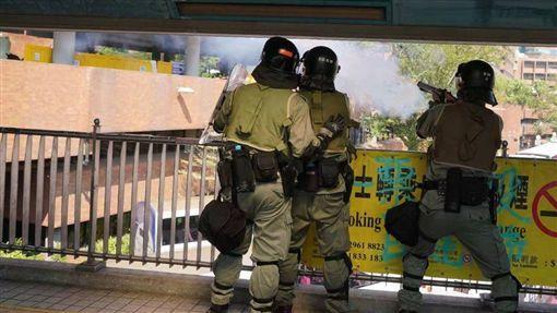 香港中文大學,警民衝突,過度使用武力,美議員,籲北京,當開心果(圖/翻攝自推特)