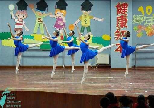 台灣芭蕾舞團,積極,走出劇場,開啟,下鄉巡演(圖/台灣芭蕾舞團提供)中央社