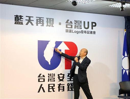 韓國瑜競選LOGO 圖/韓國瑜競選辦公室提供