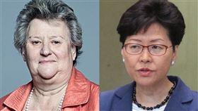 香港,反送中,中國,英國, 制裁,侵犯人權,制裁,立法,Heather Wheeler,Chris Whitehouse