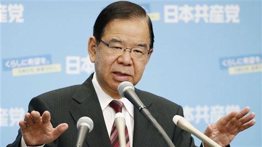 香港市民與警察衝突持續,日本共產黨委員長志位和夫14日在記者會上說,中國政府應該負起擁護人權的國際責任。(共同社提供)