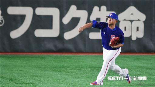 ▲世界棒球12強賽江少慶胡智為。(圖/記者王怡翔攝影)
