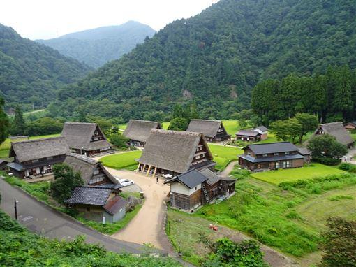 日本,合掌聚落,世界遺產,高速直達巴士,便利旅遊(圖/中央社)