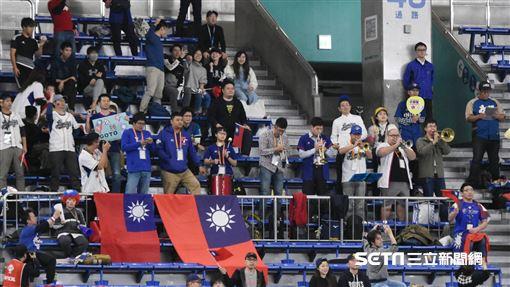 12強中華隊賽前練習。(圖/記者王怡翔攝影)