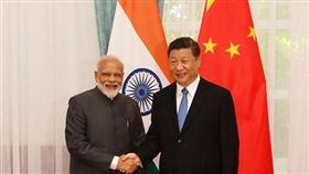 印度,莫迪,習近平,會談,貿易經濟,儘速開會(圖/翻攝自臉書)