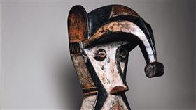 非洲,奧博多恩伊象魂面具,法國博物館,首登台,故宮南院,展出(圖/國立故宮博物院提供)中央社