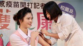 公費流感疫苗,四價疫苗,校園,醫事人員,列優先(圖/中央社)