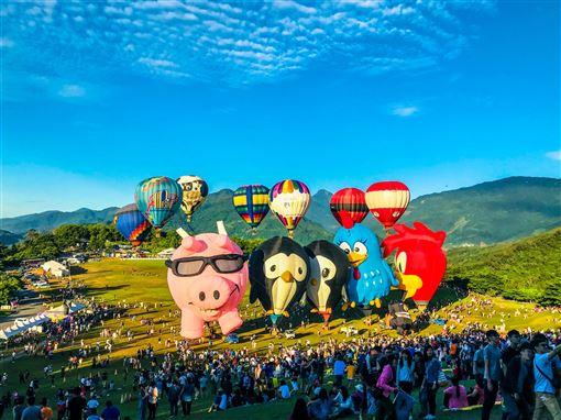 快用秋冬旅遊補助!台東十大必玩票選出爐!鹿野熱氣球第一