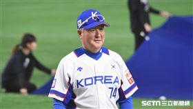 12強韓國隊專任監督金卿文。(圖/記者王怡翔攝影)