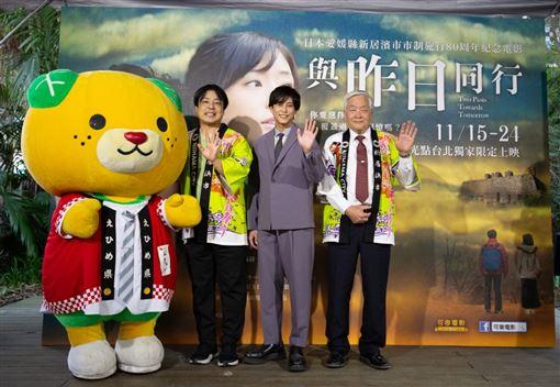 與昨日同行,佐野岳 可樂電影提供